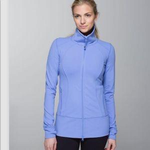 🍋 Lululemon Nice Asana Jacket purple Sz. 6
